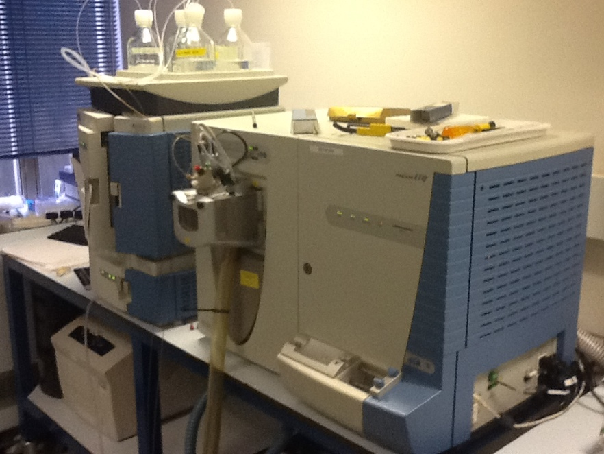 Thermo Finnigan LTQ connected to Accela HPLC