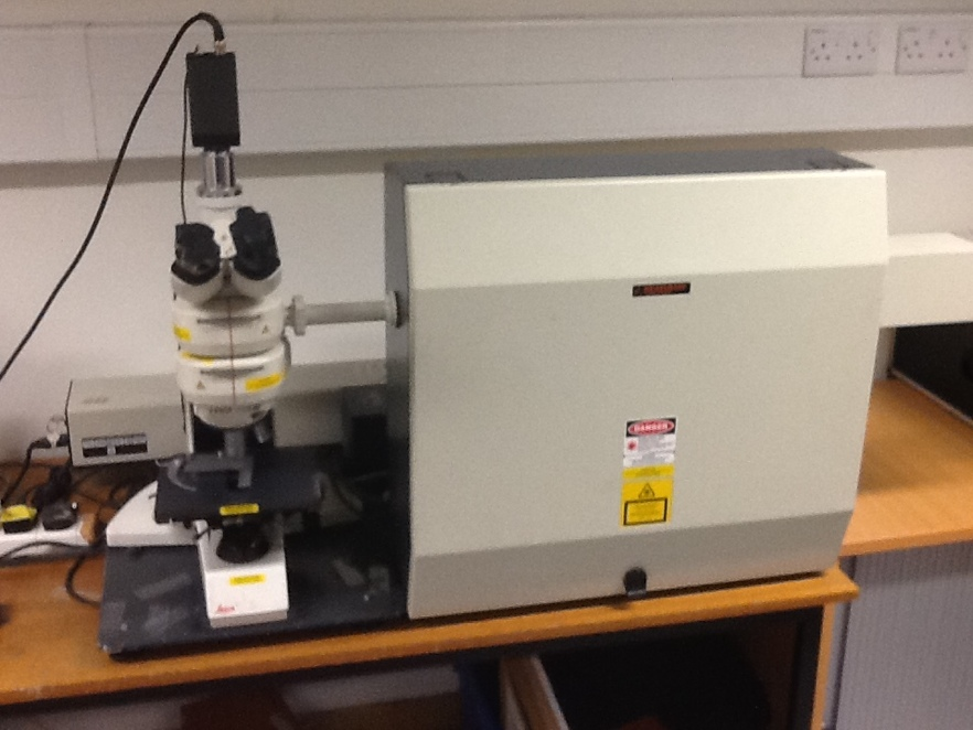 Renishaw 1000 Raman Spectrometer
