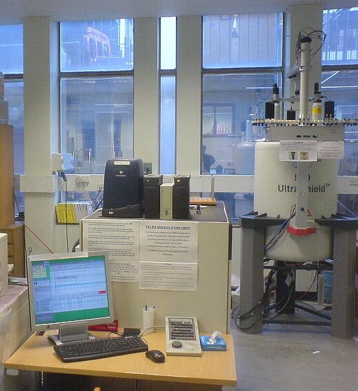 NMR 500MHz