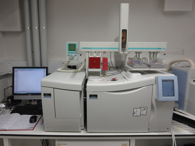 GC-MS with Auto Sampler