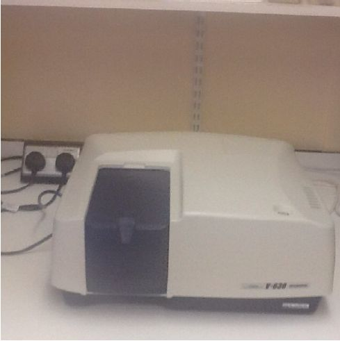 JASCO UV-Spectrophotometer