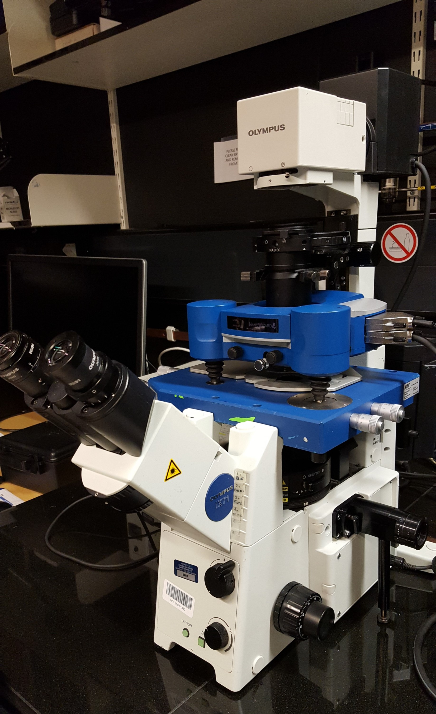 JPK Nanowizard 4 BioScience AFM