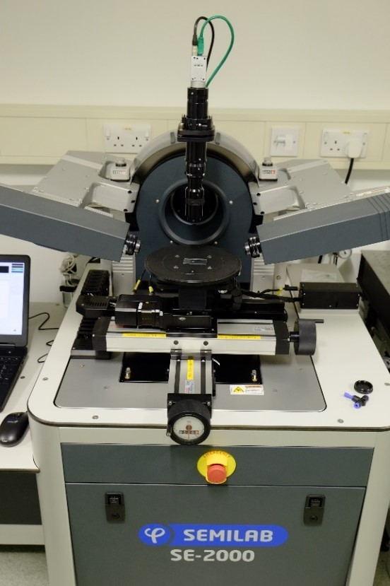 Spectroscopic Ellipsometer with Porosimetry Module and Liquid Cell/QCM Module