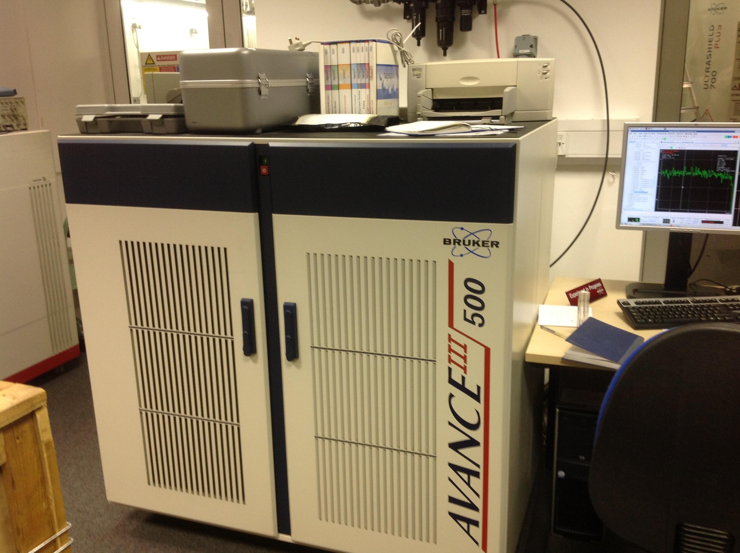 500 MHz NMR  Spectrometer
