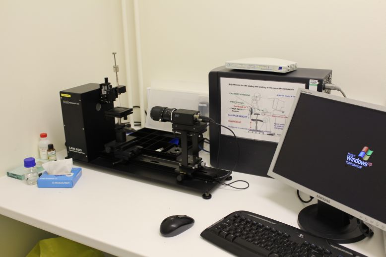 CAM 200 Goniometer