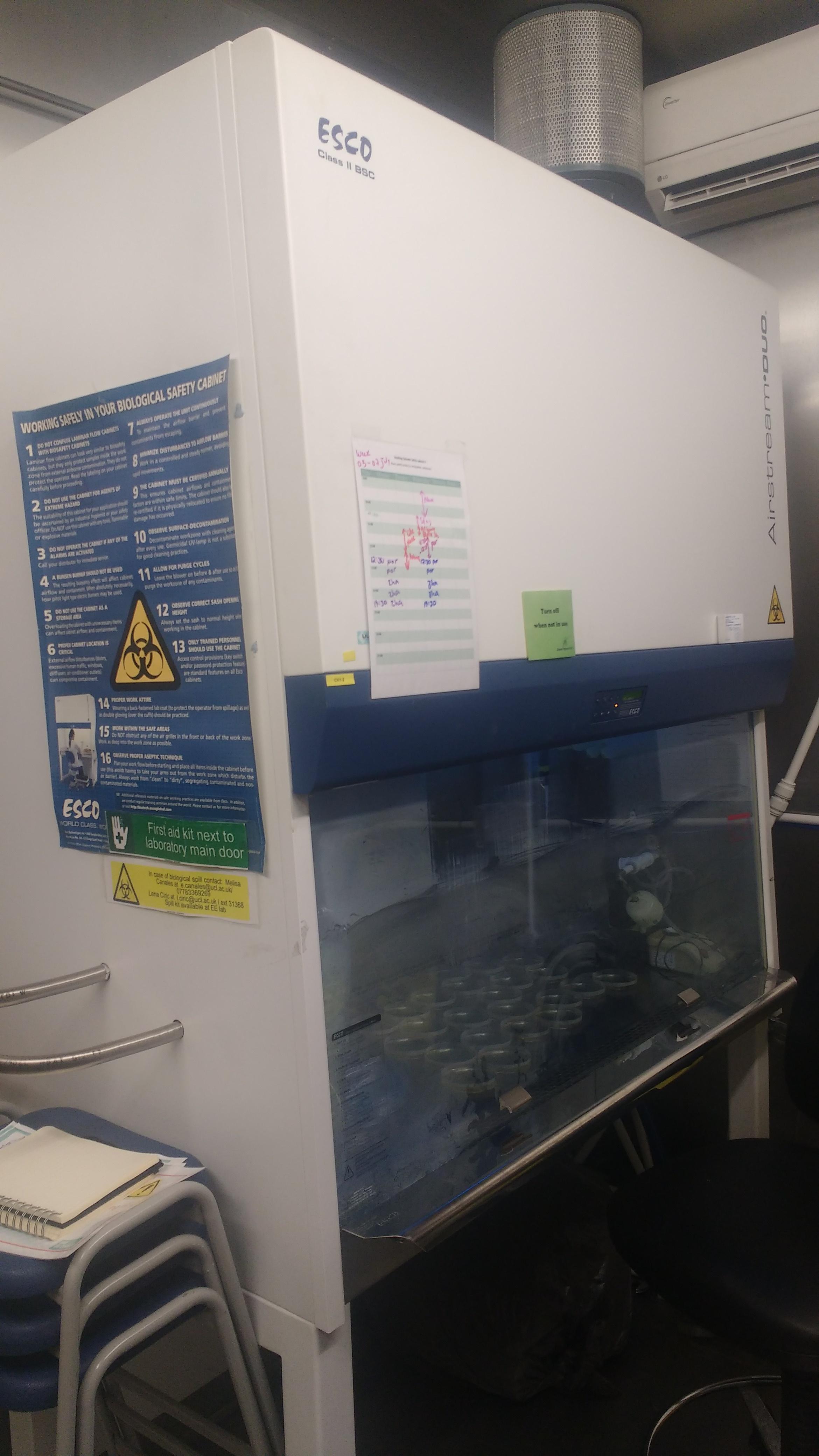 Biosafety cabinet Level II Esco AC2-4D1 CLII
